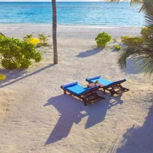 Luxury Maldives Honeymoon Innahura Inter Connecting Beach Bungalows 2