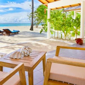 Luxury Maldives Honeymoon Innahura Inter Connecting Beach Bungalows 5