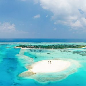 Maldives Honeymoon Packages Innahura Aerial Views