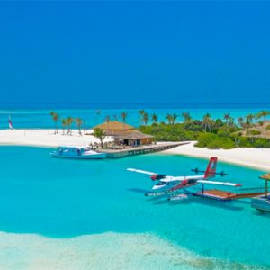 Maldives Honeymoon Packages Innahura Aerial View 1