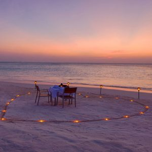 Maldives Honeymoon Packages Innahura Beach Dining