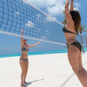 Maldives Honeymoon Packages Innahura Beach Volleyball