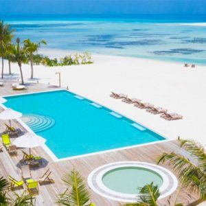 Maldives Honeymoon Packages Innahura Pool