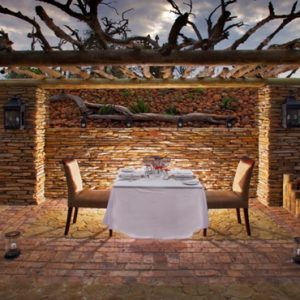 Private Dining Kapama Private Game Reserve South Africa Honeymoons