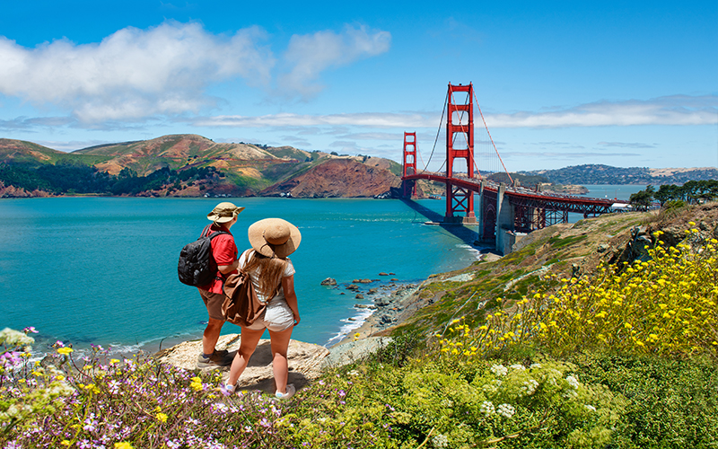 Romantic City Breaks For Valentine's Day San Francisco