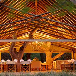 Southern Camp Dining Exterior Kapama Private Game Reserve South Africa Honeymoons