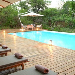 Southern Camp Pool Area Kapama Private Game Reserve South Africa Honeymoons