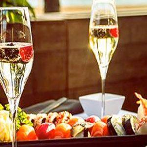 Sushi Bar Now Emerald Cancun Mexico Honeymoons