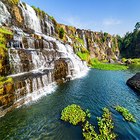 Visit The Beautiful Pongour Waterfall Thumbnail