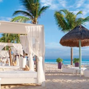 Beach And Pool Cabanas Now Emerald Cancun Mexico Honeymoons