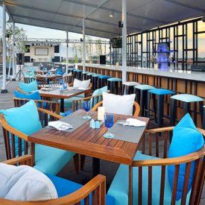 BLU Sky Restaurant Bar Lounge1 De Vins Sky Hotel Seminyak Bali Honeymoons