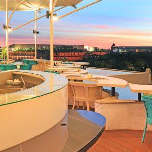 BLU Sky Restaurant Bar Lounge2 De Vins Sky Hotel Seminyak Bali Honeymoons