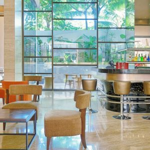 BLU Sky Restaurant Bar Lounge4 De Vins Sky Hotel Seminyak Bali Honeymoons