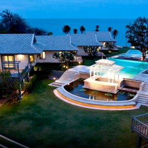 Beachfront Villa1 Devasom Hua Hin Resort Thailand Honeymoons