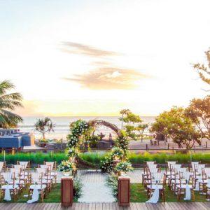 Beachfront Wedding Locaton Hotel Indigo Bali Seminyak Beach Bali Honeymoons