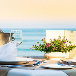 Champagne Dining Devasom Hua Hin Resort Thailand Honeymoons