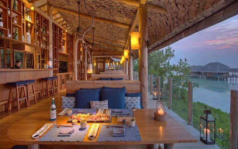 Gili Lankanfushi Maldives Dining