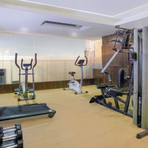 Gym De Vins Sky Hotel Seminyak Bali Honeymoons