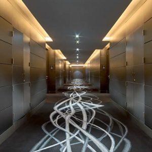 Hallway V Hotel Dubai, Curio Collection By Hilton Dubai Honeymoons