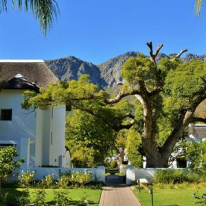 Hotel Exterior2 Le Franschhoek Hotel & Spa South Africa Honeymoons