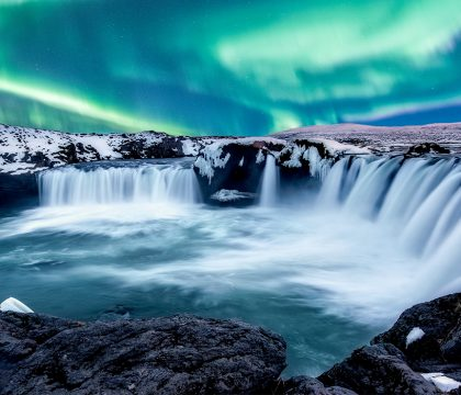 a picture of Iceland