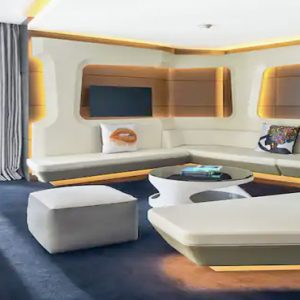 King Mega Suite1 V Hotel Dubai, Curio Collection By Hilton Dubai Honeymoons