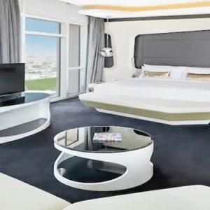 King Vibrant Suite1 V Hotel Dubai, Curio Collection By Hilton Dubai Honeymoons