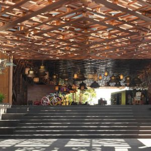Lobby Entrance Hotel Indigo Bali Seminyak Beach Bali Honeymoons