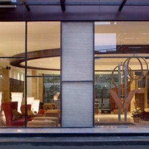 Lobby Entrance De Vins Sky Hotel Seminyak Bali Honeymoons