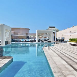 Pool V Hotel Dubai, Curio Collection By Hilton Dubai Honeymoons