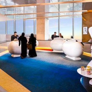 Reception V Hotel Dubai, Curio Collection By Hilton Dubai Honeymoons