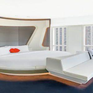 Round Bed V Suite V Hotel Dubai, Curio Collection By Hilton Dubai Honeymoons