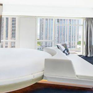Round Bed V Suite2 V Hotel Dubai, Curio Collection By Hilton Dubai Honeymoons