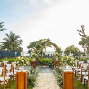 Sunset Wedding Hotel Indigo Bali Seminyak Beach Bali Holidays