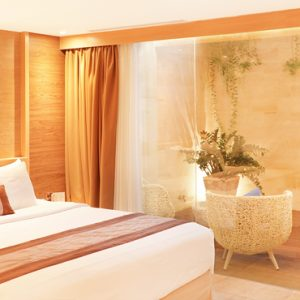 Superior Terrace Room De Vins Sky Hotel Seminyak Bali Honeymoons
