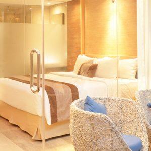 Superior Terrace Room2 De Vins Sky Hotel Seminyak Bali Honeymoons