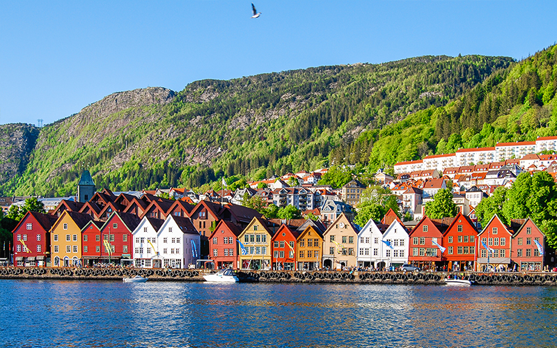 Top Places In Europe To Celebrate Your First Wedding Anniversary Bergen, Norway