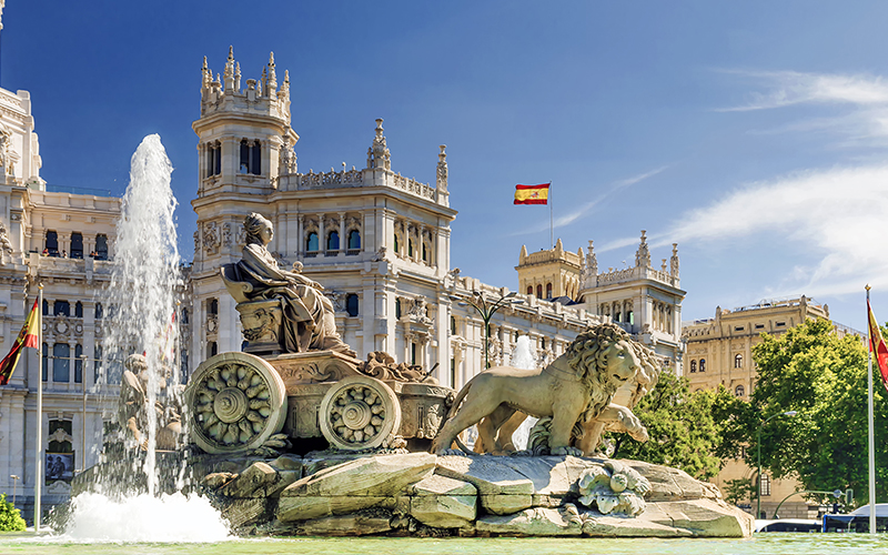 Top Places In Europe To Celebrate Your First Wedding Anniversary Madrid, Spain