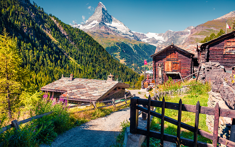 Top Places In Europe To Celebrate Your First Wedding Anniversary Zermatt Switzerland