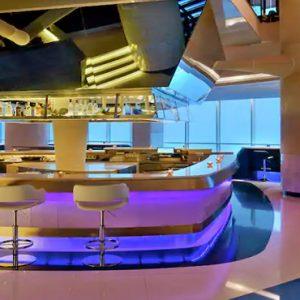 V Lounge V Hotel Dubai, Curio Collection By Hilton Dubai Honeymoons