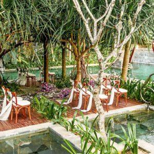 Wedding At Secret Garden Pool Hotel Indigo Bali Seminyak Beach Bali Honeymoons