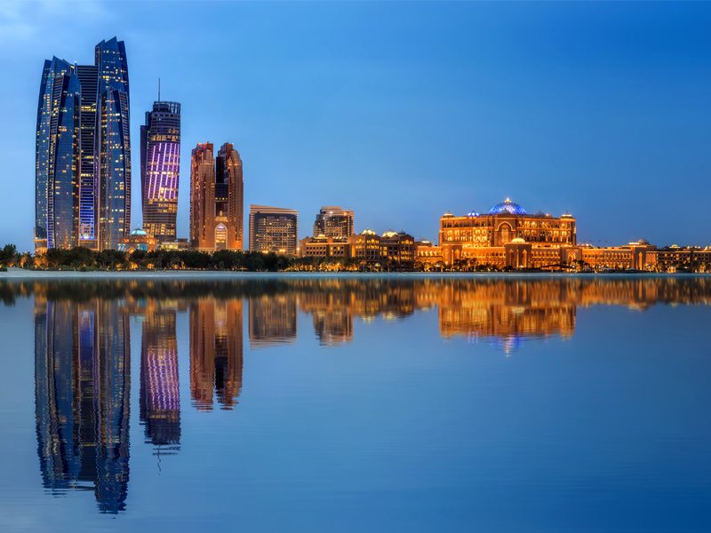 Abu Dhabi Skyline Abu Dhabi Vs Dubai Honeymoon
