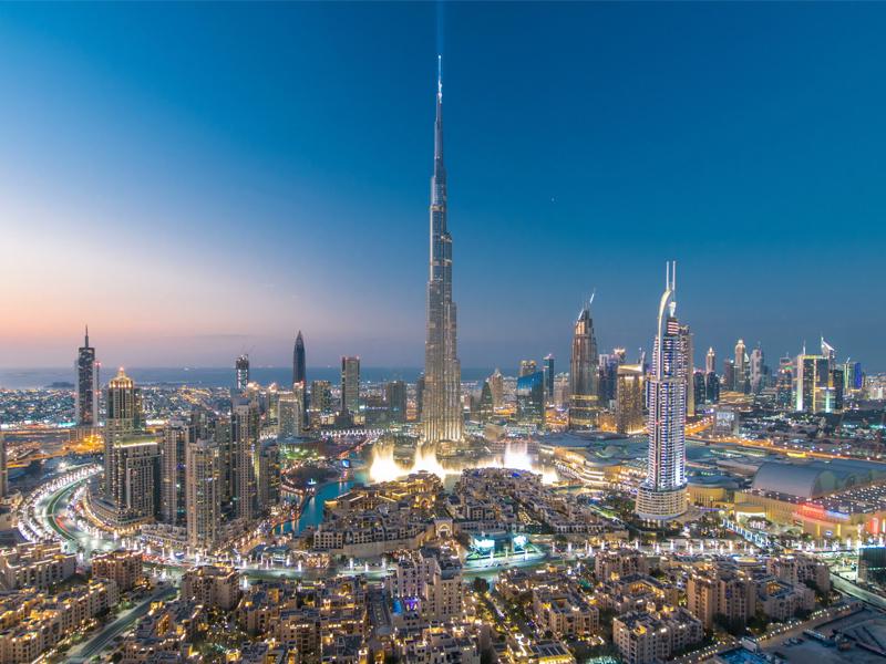 Dubai Skyline Abu Dhabi Vs Dubai Honeymoon