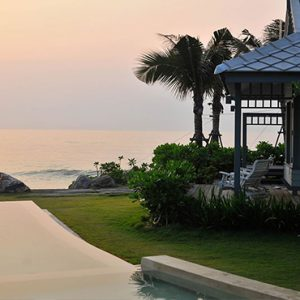 Exterior At Sunset Devasom Hua Hin Resort Thailand Honeymoons