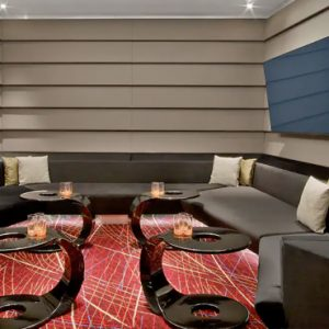 Lounge Dining V Hotel Dubai, Curio Collection By Hilton Dubai Honeymoons