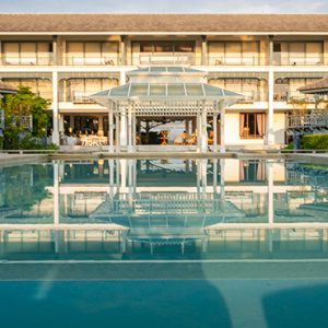 Pool Devasom Hua Hin Resort Thailand Honeymoons