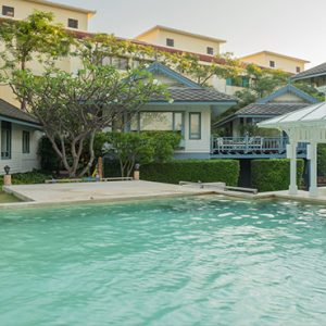 Pool1 Devasom Hua Hin Resort Thailand Honeymoons