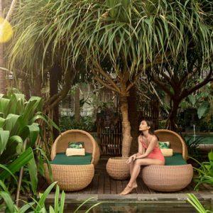 Sun Loungers Hotel Indigo Bali Seminyak Beach Bali Honeymoons