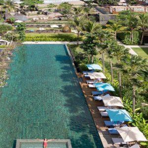Swimming Pool Hotel Indigo Bali Seminyak Beach Bali Honeymoons