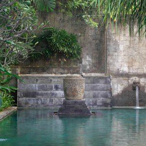 Woman By The Secret Garden Pool Hotel Indigo Bali Seminyak Beach Bali Honeymoons